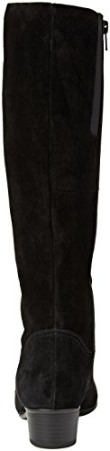 Gabor Basic, Bottes Hautes Femme Noir (Schwarz 17)