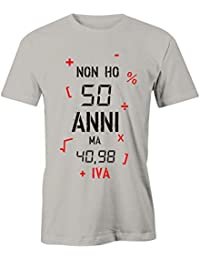 Amazon It Regali Compleanno 50 Anni Xl T Shirt T Shirt Polo