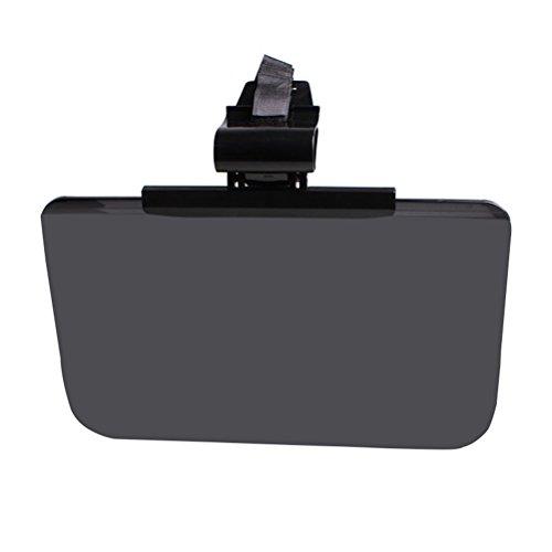 WINOMO Auto Kfz Sonnenschutz Sichtschutz Tag und Nacht Fahren Sonnenblende (Schwarz)