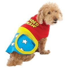 DC Comics Wonder Woman Hund Kostüm Medium (Pet Kostüm Für Wonder Woman)