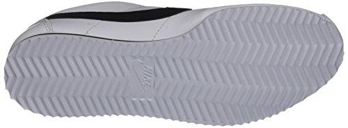 Nike Cortez (GS), Chaussures de Running Entrainement Garçon Blanc (White/Black)