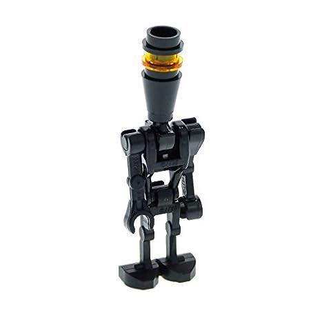 1 x Lego System Figur Droide schwarz Star Wars Clone Wars Assassin Droid Elite für Set 8015 7930 8128 30375 30376 sw222