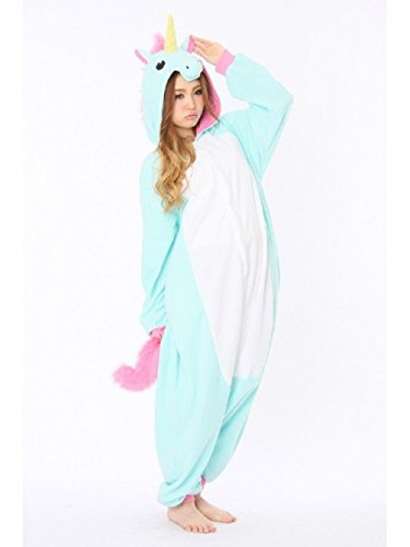 - 31UGQUlnOcL - Anbelarui® Women's Ladies Men's Adult Unisex Fleece Animal Onesies Novelty Pyjamas Nightwear Xmas Halloween Costumes