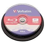 - BD-RE Disc, 25 GB, 2x, Silver,10/Pk by MOT5