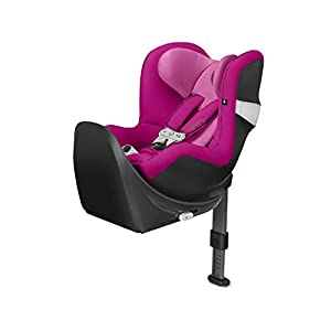 CYBEX Gold Sirona M2 i-Size Car Seat, Incl. Base M, Incl. SensorSafe chest clip, From Birth to approx. 4 years, Up to Max. 105 cm Height, Fancy Pink   8