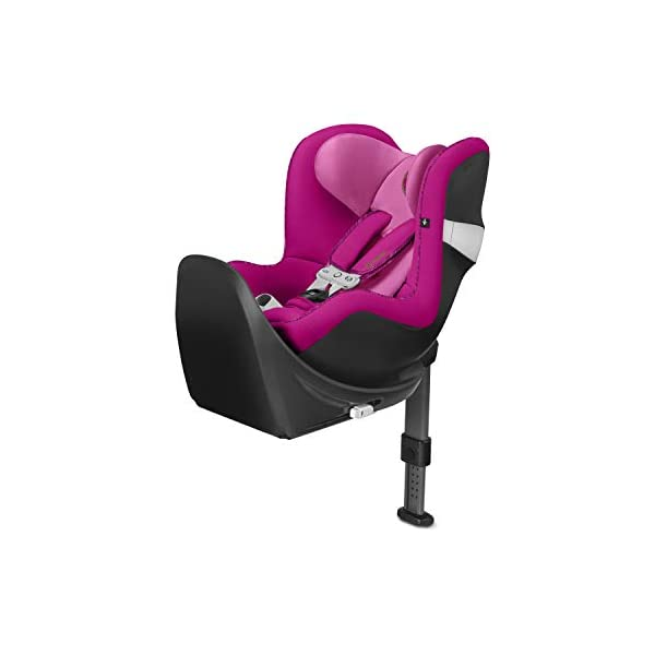 CYBEX Gold Sirona M2 i-Size Car Seat, Incl. Base M, Incl. SensorSafe chest clip, From Birth to approx. 4 years, Up to Max. 105 cm Height, Fancy Pink  Cybex gold car seat sirona m2 i-size incl. sensorsafe incl. base m Item number: 519001851 Colour: fancy pink 1