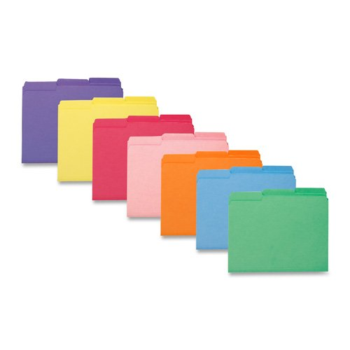 SMEAD®-Innen Datei Ordner, 1/3Cut Top Tab, Letter, lila, 100/Box-1Box verkauft -, sauber geführte Innen zum Aufhängen Dateien ohne dabei Index Tabs. (Expansion Dateien Von)