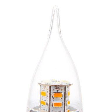 FDH Vela , lámparas E26/E27 5 W 24 SMD 5730 350 LM BLANCO CÁLIDO CA 220-240 V CA