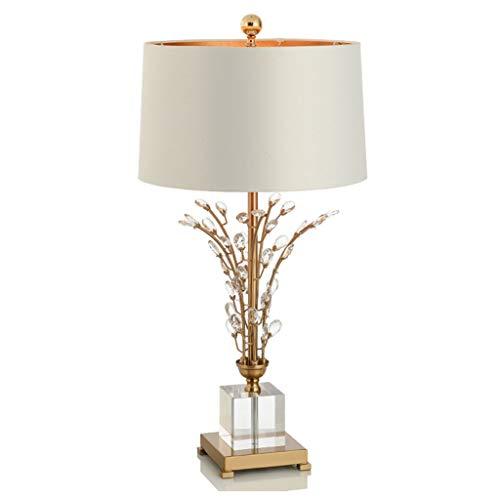 Lámparas de escritorio FHW Lámpara de Mesa de Cristal Creativo ...