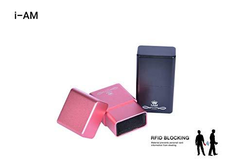 Schutzbox für I-AM RFID Autoschlüssel, Diebstahlsicherung, Aluminiumgehäuse, 100% RFID-Schutz
