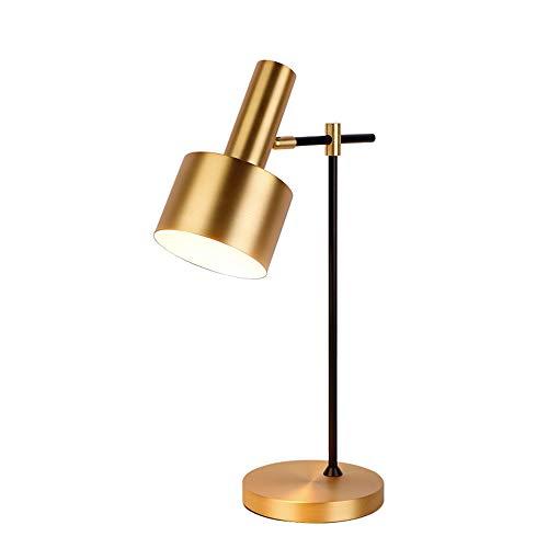 Table Lamp Nordic Post-Modern Desk Lampe Bedroom Bedside Lamp Simple Living Room American Hotel Office Hardware Decoration Creative Lamp Gold E27