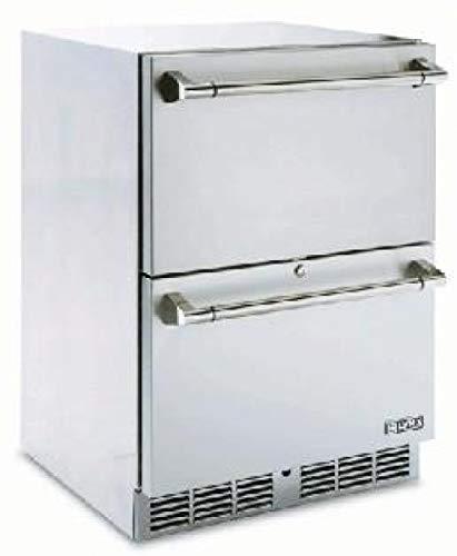 California Lynx Professional Edelstahlkühlschrank mit Schubladen