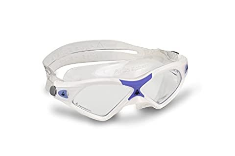Aqua Sphere Seal XP Clear Lens Swim Mask, White/Lavender