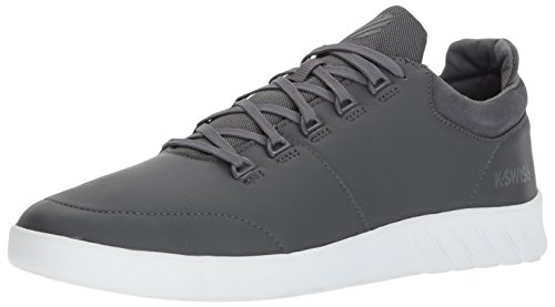 K-Swiss Aero Trainer, Sneakers Basses Homme Gris (Castle Gray/shell/white)