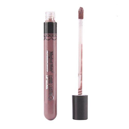 Susenstone Lip Gloss Rouge à Lèvres Mat Velours Imperméable à l'eau Super Longue ne Durée pas Fade, BW18