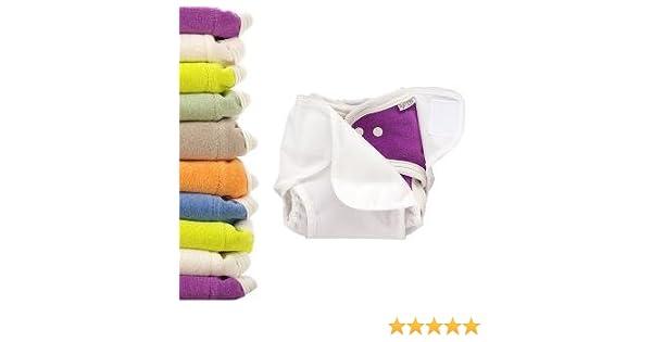 10x Windel Einlagen Reine Baumwolle Wiederverwendbar Baby Tuch 12 Schichten DE
