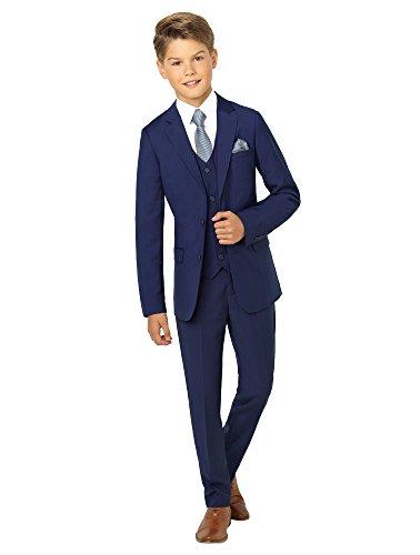 Paisley of London Anzug für Jungen, für Hochzeiten, blau - 10 Jahre