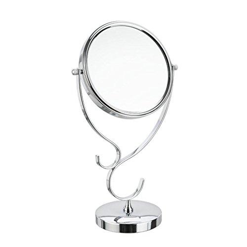 Miroir Miroir de beauté, Miroir de maquillage, Miroir cosmétique double face
