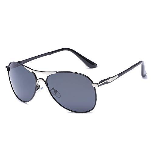 Easy Go Shopping Mode Herren Sonnenbrillen, polarisierte Sonnenbrillen, Outdoor-Sportbrillen, Vintage Metal Frog Mirror Sonnenbrillen und Flacher Spiegel