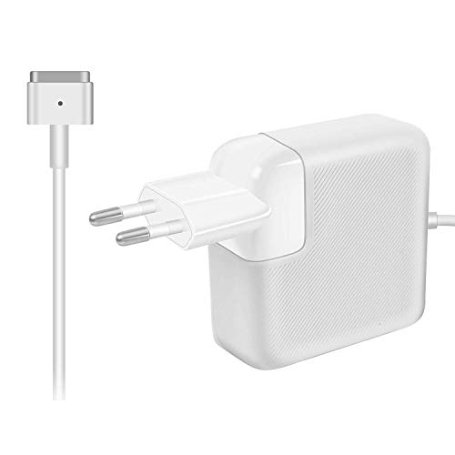 AndMore Cargador Compatible con MacBook Pro 60w, Adaptador de Corriente MagSafe 2 de Cargador macbook Air para MacBook Pro 13 Pulgadas Pantalla Retina (de Finales de 2012) A1425, A1435, A1502, A1465