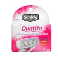 schick-schick-quattro-for-women-cartridges-ultra-smooth-4-each-pack-of-2-by-schick