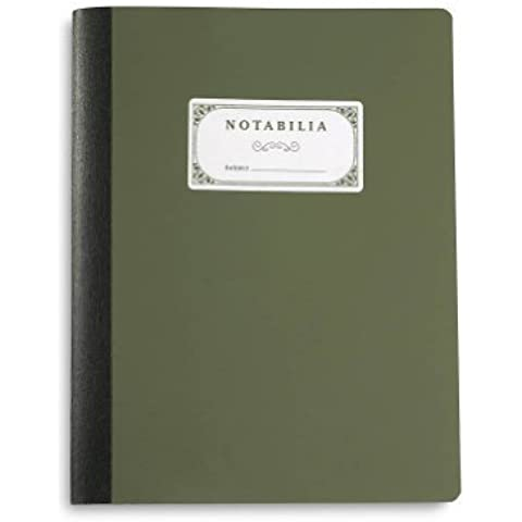 Levenger Notabilia Notebooks 1/4-Inch Ruled (set of 2) (ADS1880 RL) by Levenger
