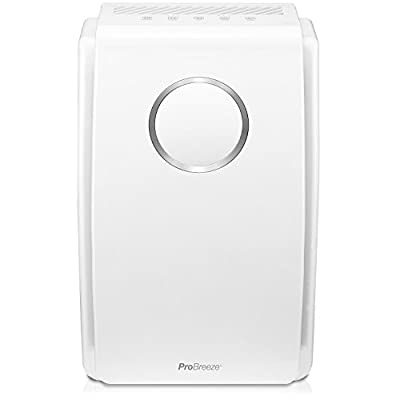 Pro Breeze 5-in-1 Air Purifier with True HEPA Filter, Active Carbon & Negative Ion Generator