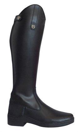 brogini Modène synthétique Long d'équitation Noir (Large)