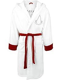 Assassin's Creed Logo Albornoz blanco-rojo one size