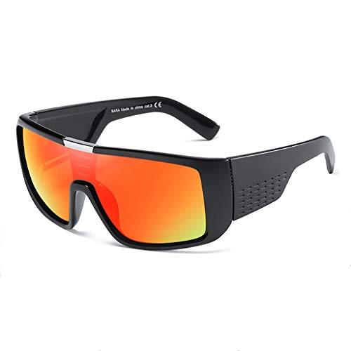 (Das Ende der Wüste Herren-Sport-Sonnenbrillen Radfahren Brillen Outdoor-Sonnenbrillen DOMO Sonnenbrillen (Farbe : #4))