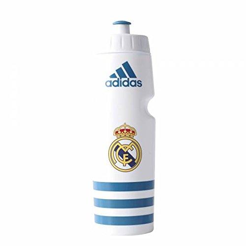adidas Real Btl 0,75L Botella, Unisex Adulto, Blanco (Blanco / Azuint), NS