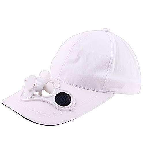 CAOQAO moda singolo prodotto campeggio punta cappello da escursionismo con ventola da baseball in cotone tappo di raffreddamento ventola di raffreddamento