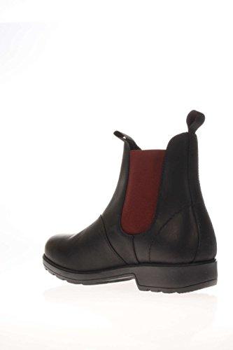 Docksteps DSE103789 jasper m beatle 1302 leather black - bordeaux Nero