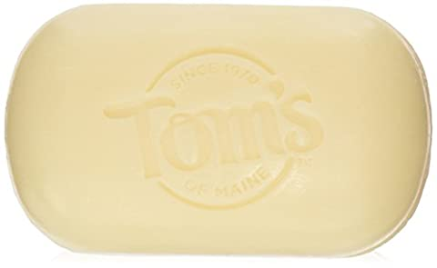 Tom's Of Maine Moisture Bar Deodorant Natural Beauty Bar Soaps, 2 Count