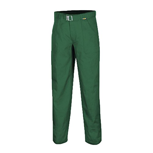 teXXor–Pantaloni Basic Pantaloni da lavoro per l' industria e artigianato, 90, Verde, 8055