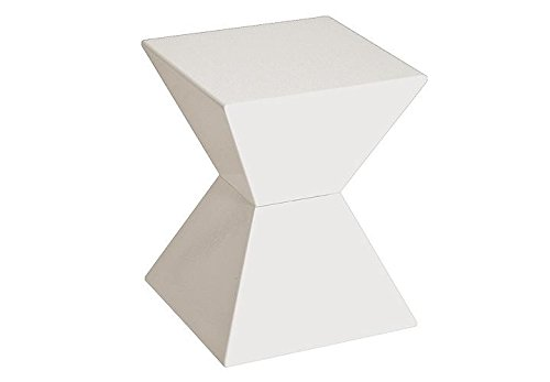 HAKU Möbel 87300 Beistelltisch 35 x 35 x 43 cm, weiß