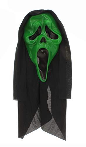 Unbekannt Maske Ghost Face Scream Mask (grün)