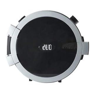 Allaway DUO weiß schwarz Staubsaug-Zentralgerät - Zentralstaubsauger Staubsauger (schwarz)