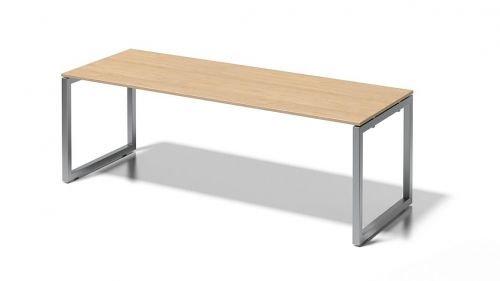 Bisley Cito Schreibtisch, 740 mm Höhenfixes O H 19 x B 2200 x T 800 mm, Dekor Ahorn, Gestell...