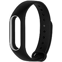 iMounTop Xiaomi Mi band 2 Bracelet de Remplacement Bracelet Antistatique Sangle de Remplacement pour Xiaomi Mi band 2 (Aucune activité Tracker)