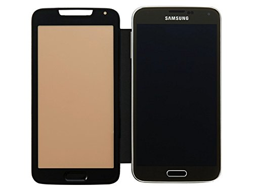 Anymode Booklet Case - Me-In Cover - Samsung Galaxy S5 - Schwarz