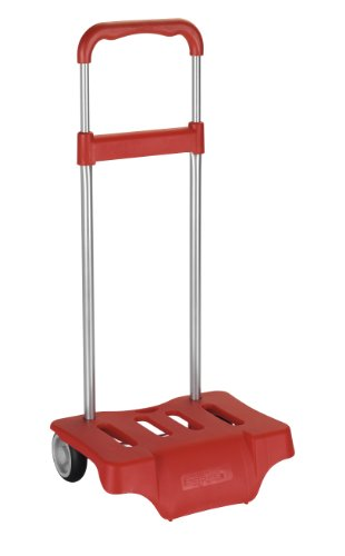 Safta 641076905 - Carrito, portamochilas, color rojo