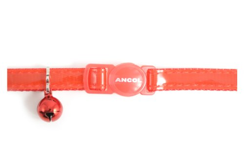 Gloss-Reflective-Cat-Collar-with-safety-buckle
