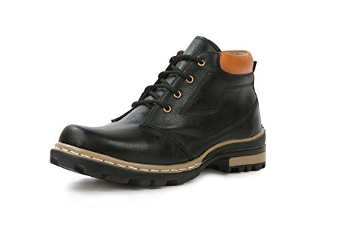 Bacca Bucci Men Black Pu Boots 8 Uk  available at amazon for Rs.607