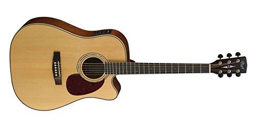 Cort MR710F - Guitarra acústica (calibre de cuerdas: .012-.053, madera, satinado)