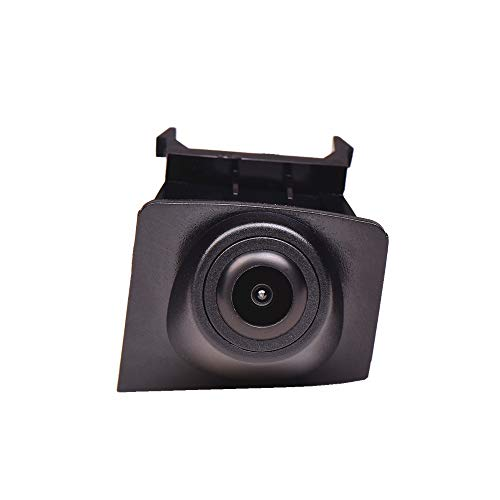 Front-Kamera- perfekt,170° Wasserfest 1/3 HD CCD Emblem Kamera (Schwarz) & unauffällig ins Front-Emblem integriert für BMW X3 F25 2013 2014 Front View Camera Grill Embedded