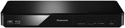 Panasonic DMP-BDT180 Smart Network 3D Ready 4K Upscaling Blu-Ray DVD Player(Black)