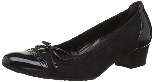 Gabor Shoes Comfort Fashion, Scarpe con Tacco Donna Blu (pazifik 26)