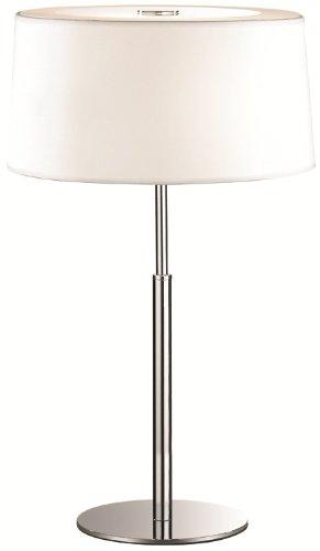 ideal-lux-hilton-tl2-lmparas-de-mesa-color-blanco-tela-vidrio-metal-pvc-dormitorio-habitacin-de-los-