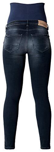 Noppies Damen Umstandsmode ❤️ Hose 60027 Skinny Slim Fit (Röhre) ❤️ (XS / 27, Aged Blue (P144)) -